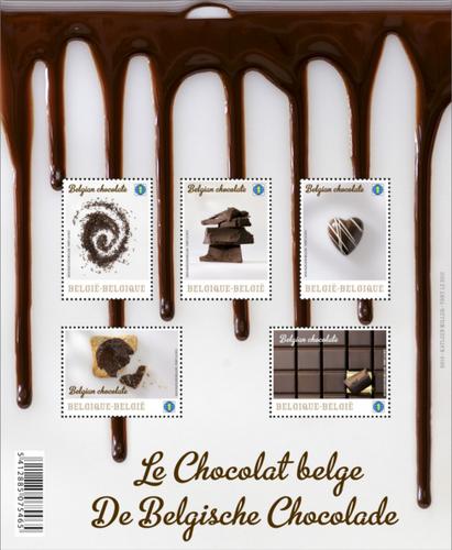 チョコ切手