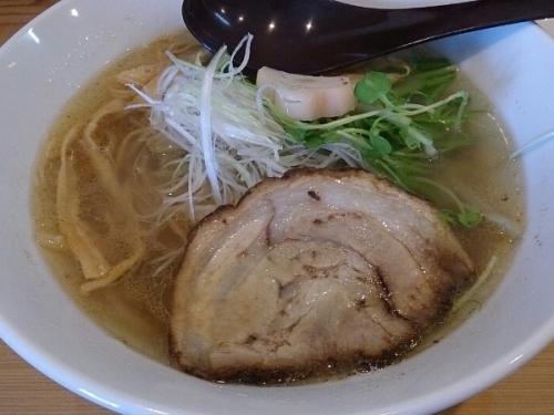 汐ラーメン - 弐(豚チャ)※細麺(全粒粉使用)【麺や七福】