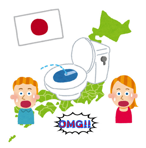 驚きトイレ