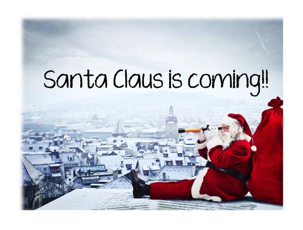 サンタが来る!